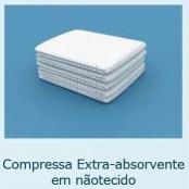 Compressa Extra-absorvente em nãotecido