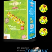 Curativo adesivo infantil hipoalérgico diâmetro 25mm - COPERTINA