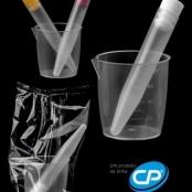 Kit de urina com tubo PP de 10 ml para rotinas manuais - CRALPLAST