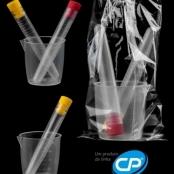 Kit de urina com tubo PP de 12 ml para rotinas em automação - CRALPLAST