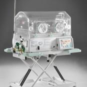 Incubadora para transporte e remoção de recém nascidos e prematuros de alto risco