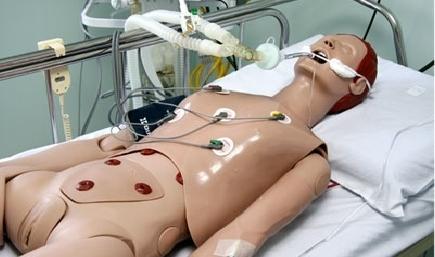 Simulador Avançado de Cuidados com o Paciente Adulto e Gerenciamento de Vias Aéreas - 45 CWA
