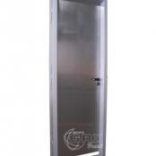 Porta Radiológica - Batente Aço / Acabamento Inox