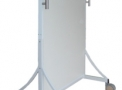 Biombo 0,80 x 2,10 m c/ 1,5 mm Pb Visor 15 x 20 cm