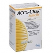 LANCETA ACCU-CHEK SOFTCLIX II C/200