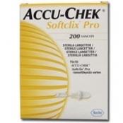 LANCETA ACCU-CHEK SOFTCLIX PRO C/200