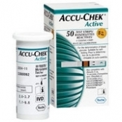 TIRAS ACCU-CHEK ACTIVE GLICOSE C/50