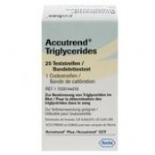 TIRAS ACCUTREND TRIGLICERIDES C/25