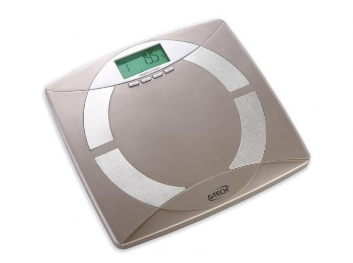 Balança Digital com Medição de Gordura G-TECH FW Steel