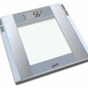 Balança Digital com Medição de Gordura G-TECH Glass 5 FW