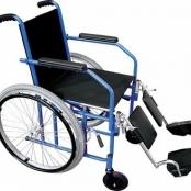 Cadeira de Rodas Adulto Dobrável (Assento 44cm)