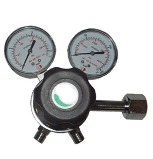 Válvula red. Pressão p/cilindro nitrogenio c/ 2 man