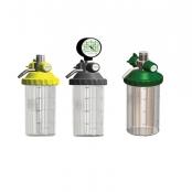Aspirador venturi p/rede de oxigênio 400 ml frasco inquebrável