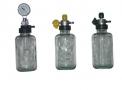 imagem de Aspirador p/rede de vácuo c/frasco de 500 ml vidro