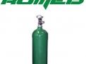 Cilindro de aço 03 litros vazio (0,45m3)