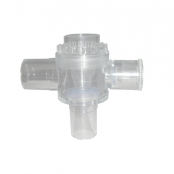 Válvula superior p/ambú polivinil verde silicone básico/baraka