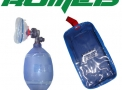 Reanimador pvc adulto com bolsa ziper