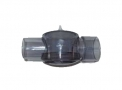 Válvula reservatório de o2 ambú de silicone/PVC