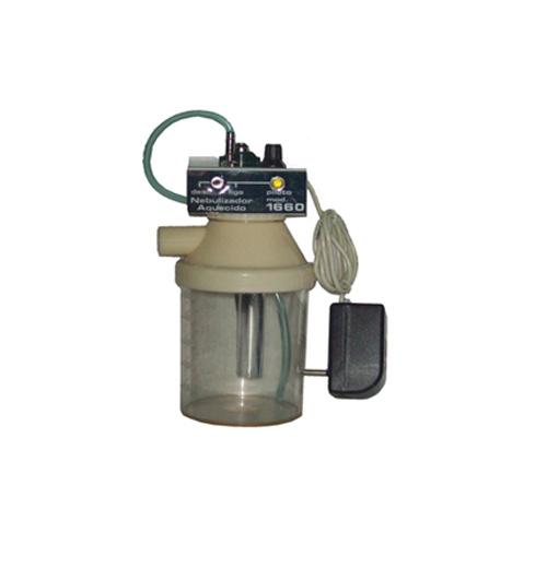 Conjunto nebulização continua aquecido 220v traq PVC adulto