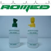 Umidificador c/frasco plástico 250ml p/ar comprimido