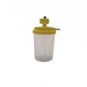 Umidificador c/frasco plástico 500ml c/ext. e máscara p/ar