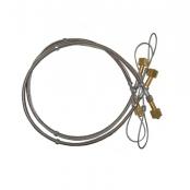 Chicote serpentina p/cilindro de aço (...)