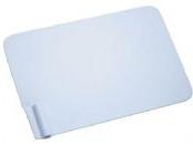 Placa-Paciente em Aço Inox - Branca (80 x 120 mm) PP-01l