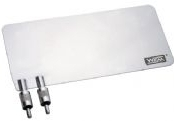 Placa-Paciente em Aço Inox (85 x 180 mm) PP-05