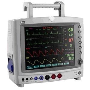 Monitor Multiparametrico (Ecg, Spo2, Pni, Resp e Temp)