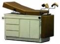 imagem de Mesa ginecológica com gabinete em fórmica - Engemóbile