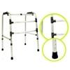 Andador de alumínio articulável,dobrável e regulável 3 barras - Sequencial