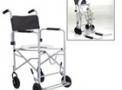 Cadeira de Banho em aço dobrável DB - Baxmann