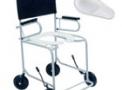 imagem de Cadeira de banho/sanitária com comadre plástica 201 ESCAM Cinza - CDS