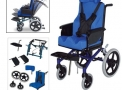 Cadeira de rodas alumínio Conforma Tilt - Ortobras