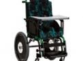 Cadeira de Rodas em alumínio Confort Tilt Plus 35cm Verde Verniz – Ortomix