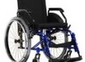 Cadeira de Rodas em alumínio Dinâmica Lite 60° Standart 44cm azul – Ortomix