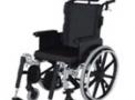 Cadeira de rodas em alumínio ULX Reclinável 42cm prata - Ortobras