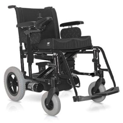 Cadeira de rodas motorizada Nova Hummel Standard 40cm Preta - Rea Team