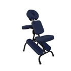 Cadeira portátil Preto/Azul marinho para Quick Massage - Legno