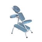Cadeira portátil Branco/Azul  para Quick Massage - Legno