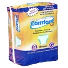 Calças absorventes descartáveis uso adulto Tamanho G - Comfort Gel