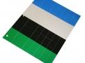 imagem de Cartela de tiras 4 cores para marcação e identificação de instrumentais cirúrgicos - Batrik