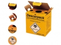 Coletor de materiais perfurocortantes Descarpack 3,0 lts.