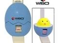 Estadiômetro compacto infantil 200cm Eggshape Azul - Wiso