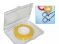 imagem de Fita para marcação e identificação de instrumentais cirúrgicos cor amarela T250-04 - Batrik
