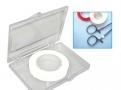 imagem de Fita para marcação e identificação de instrumentais cirúrgicos cor branca T250-03 - Batrik
