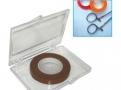 imagem de Fita para marcação e identificação de instrumentais cirúrgicos cor marrom T250-08 - Batrik