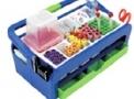Maleta em plástico para coleta de sangue HS 2200 B - Plast-Bio
