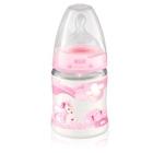 Mamadeira com bico ortodôntico de silicone Rose%26Blue 0 a 6 meses 150ml Rosa - Nuk