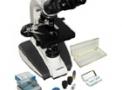 imagem de Microscópio Biológico Binocular 1600x com kit de lâminas L-1000b-AC - BIOVAL